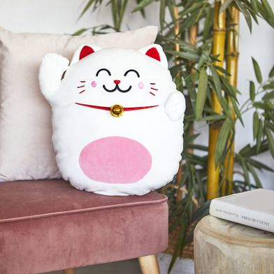 Coussin Lucky Cat Mr Wonderful par Balvi