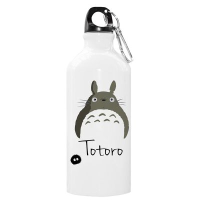Bouteille isotherme Totoro acier blanc