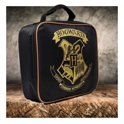 Lunch bag Harry Potter Hogwarts noir