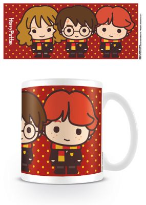Mug chibi Hermione, Harry Potter et Ron