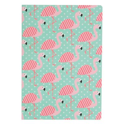 Notebook A5 flamant rose