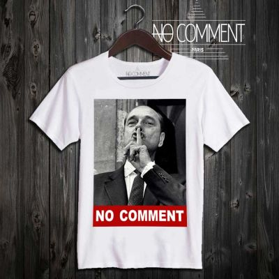 Tee-shirt Jacques Chirac No Comment