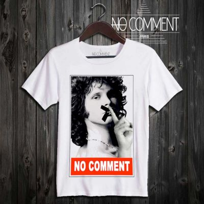 Tee-shirt Jim Morrison No Comment à commander