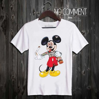 Tee-shirt Mickey dope No comment à commander