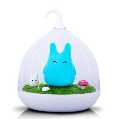 Veilleuse Totoro bleue rechargeable
